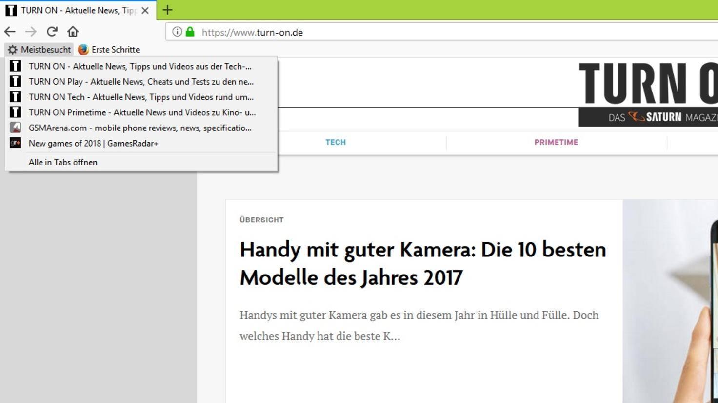 Firefox lesezeichen wiederherstellen