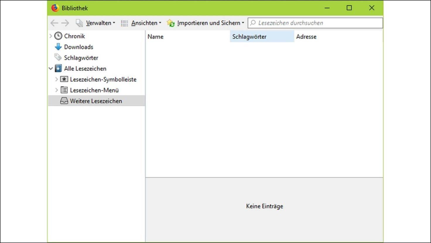 Firefox-57-Lesezeichen-sichern
