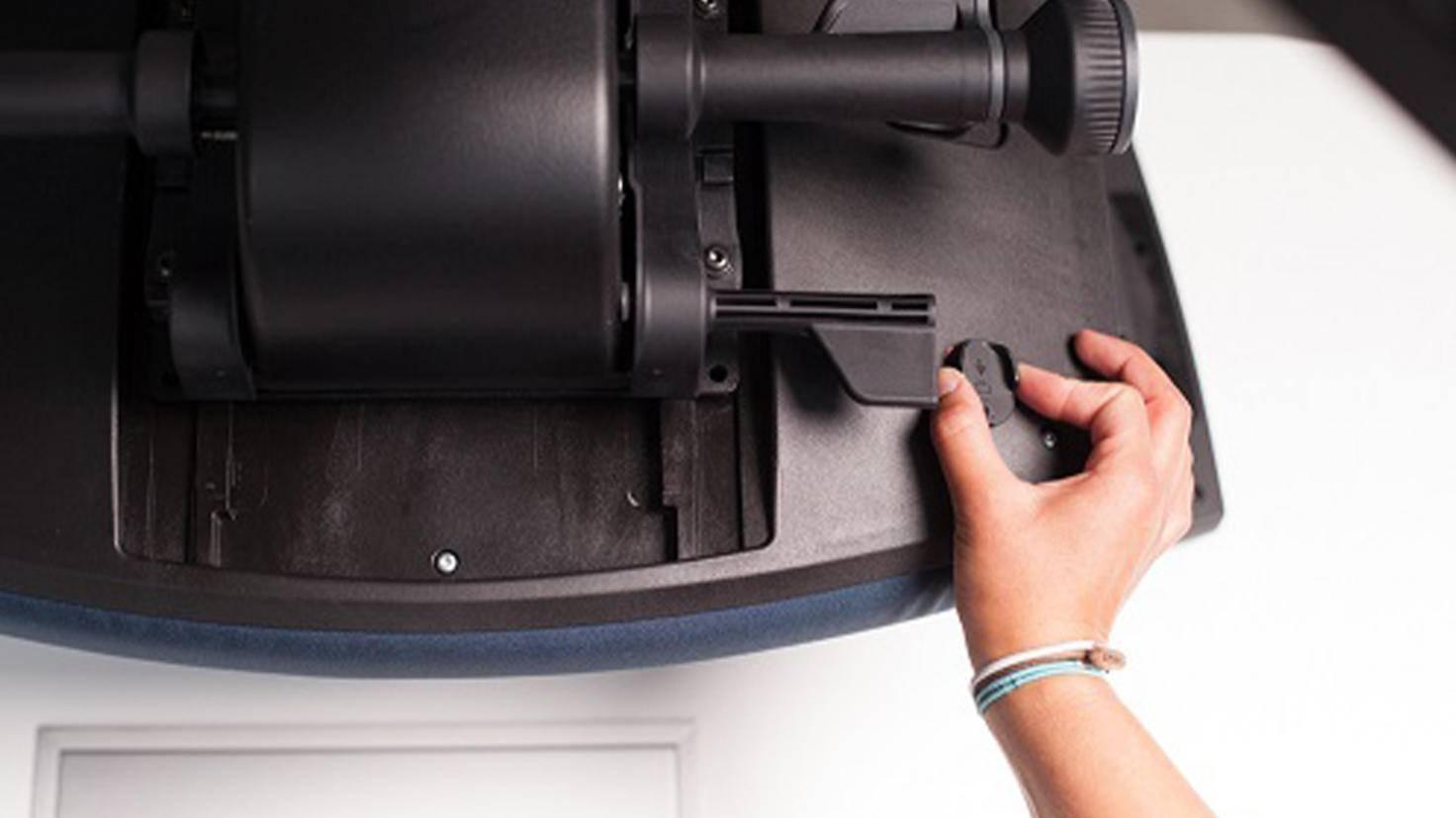 Garmin und Interstuhl Montage Sitzsensor 4.0