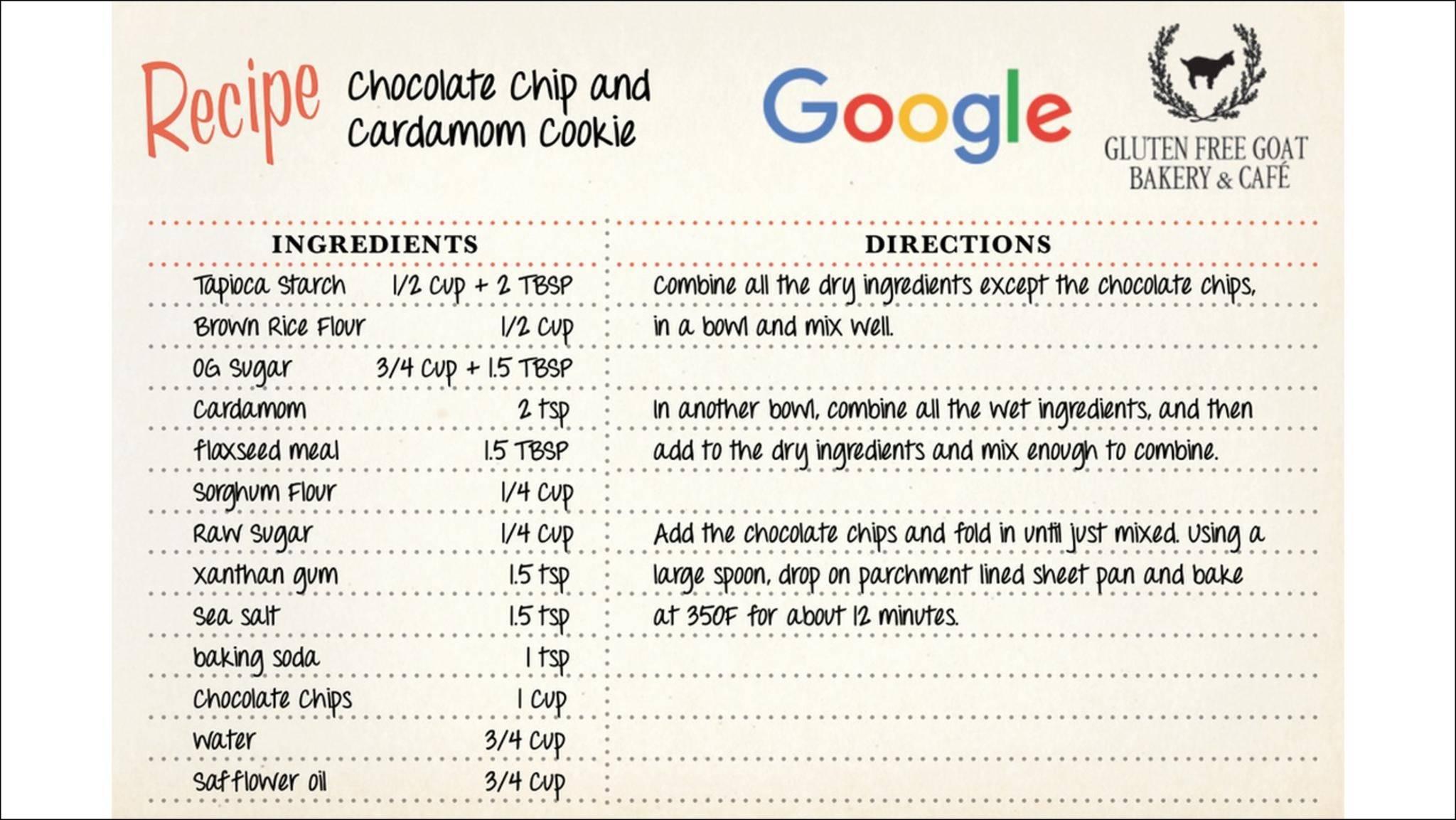 Google-Smart-Cookie-Rezept