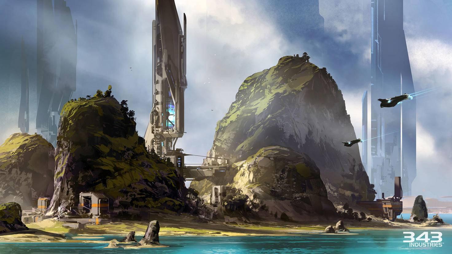Halo-5-Guardians-Konzeptzeichnung
