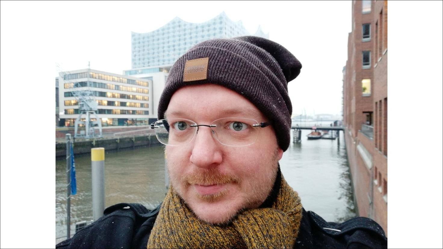 Für Selfies ist die Dual-Cam besonders praktisch.