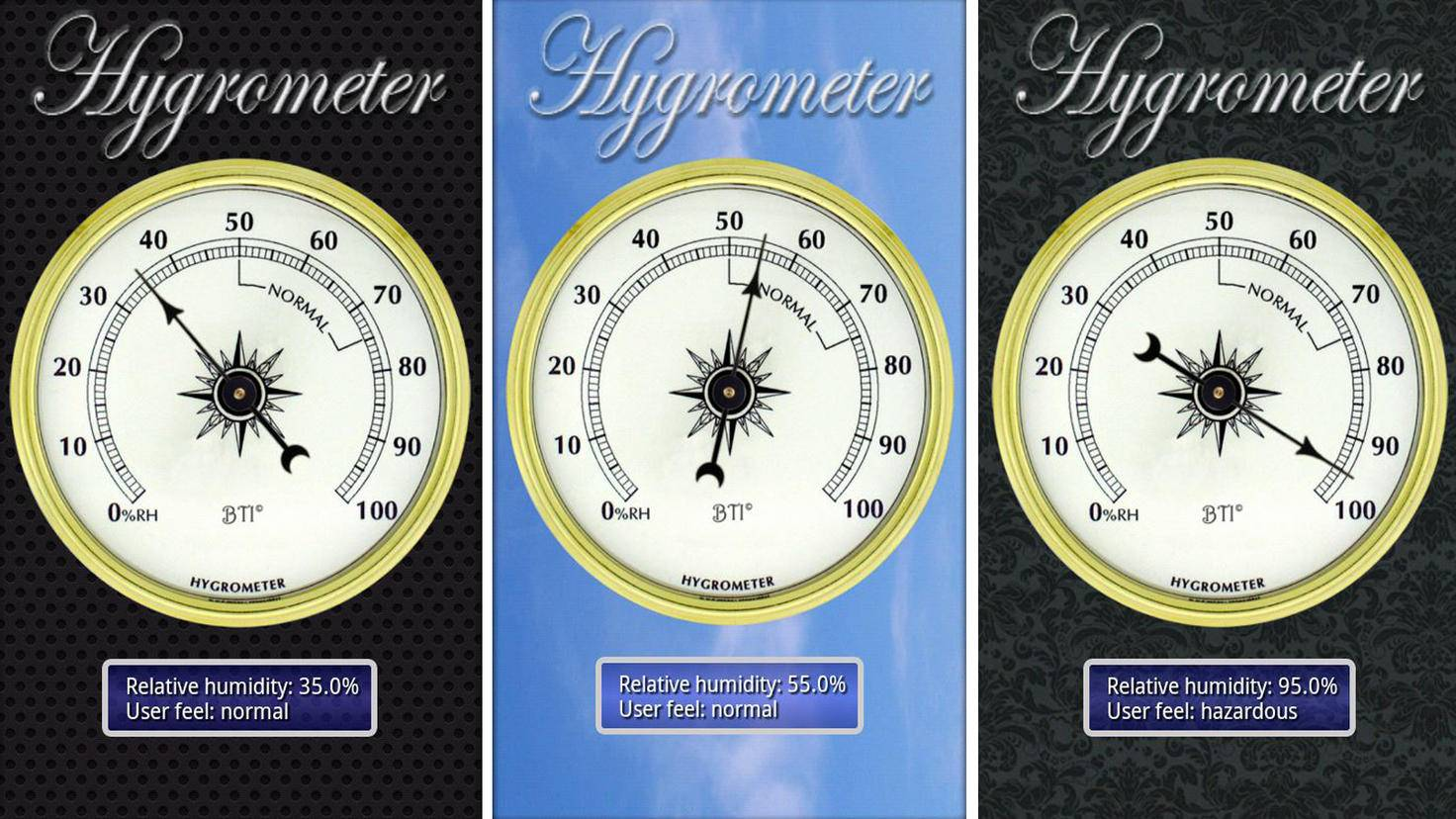 Hygrometer-Google PlayStore-Trajkovski Labs