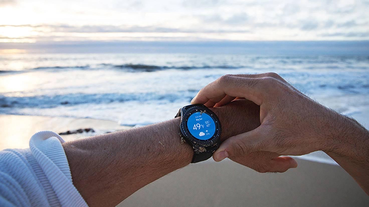 """Erst im """"Smart-Modus"""" verrät die Samsung Gear S3, was in ihr steckt."""