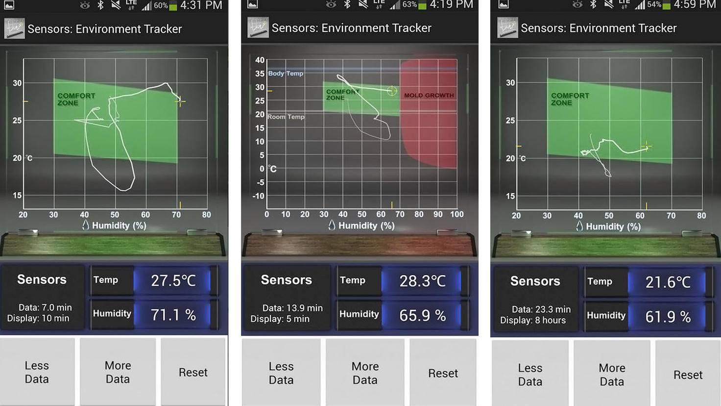 Sensors Temp-Google Play Store-YD Visual