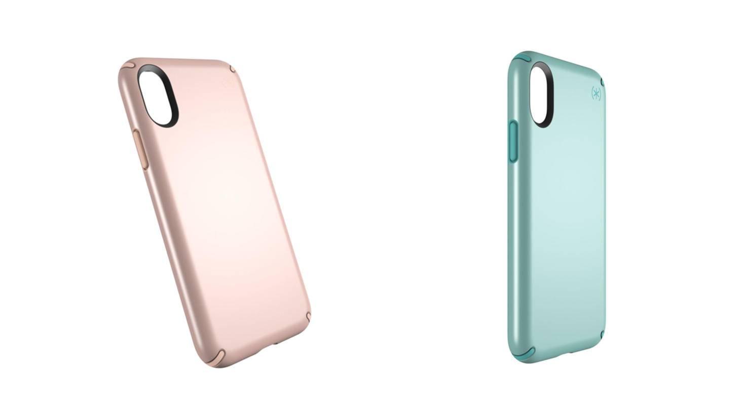 Speck Presidio Metallic iPhone X Cases
