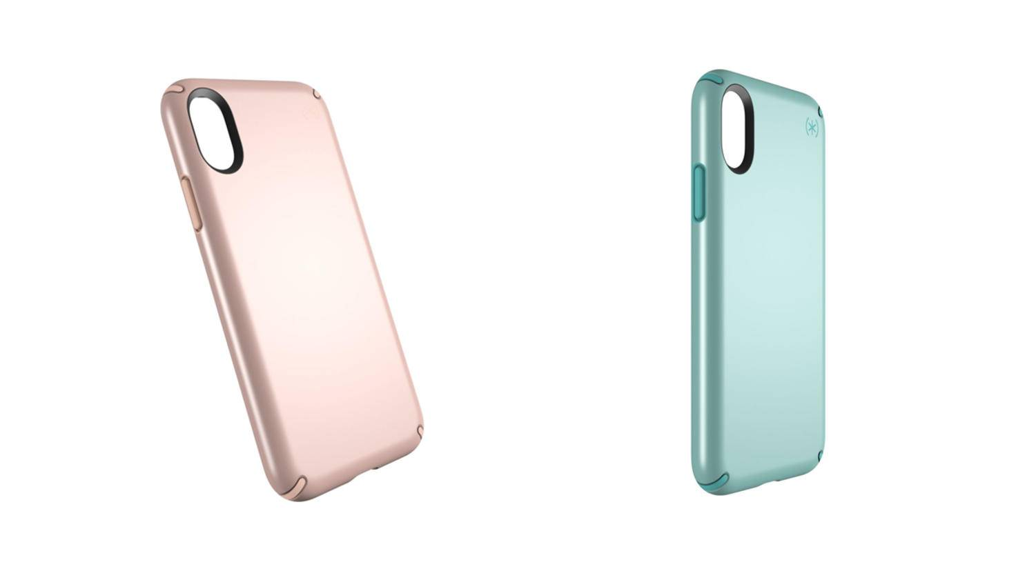Speck Presidio Metallic iPhone X Cases