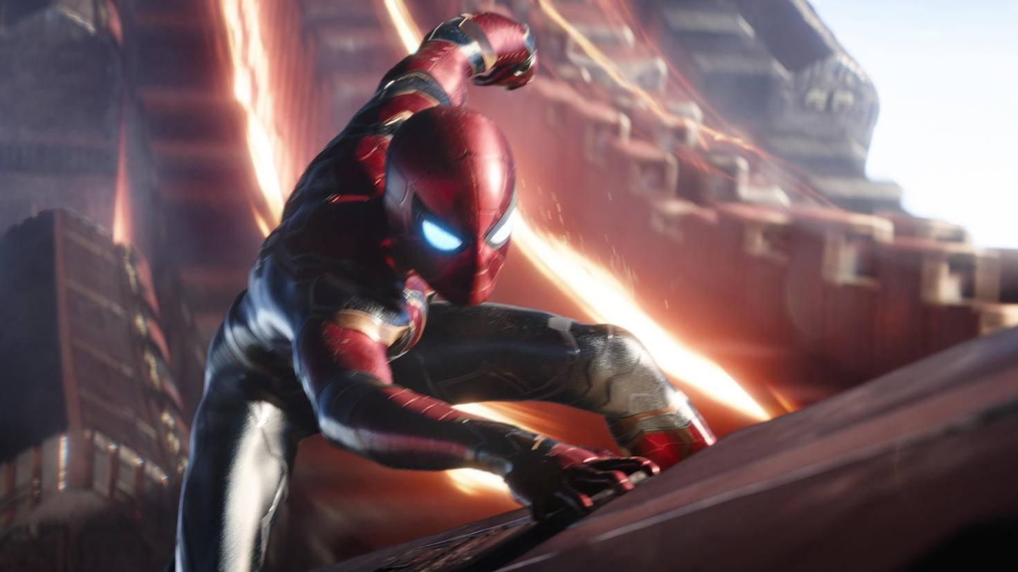 Tom Holland als Spider-Man in Avengers: Infinity War