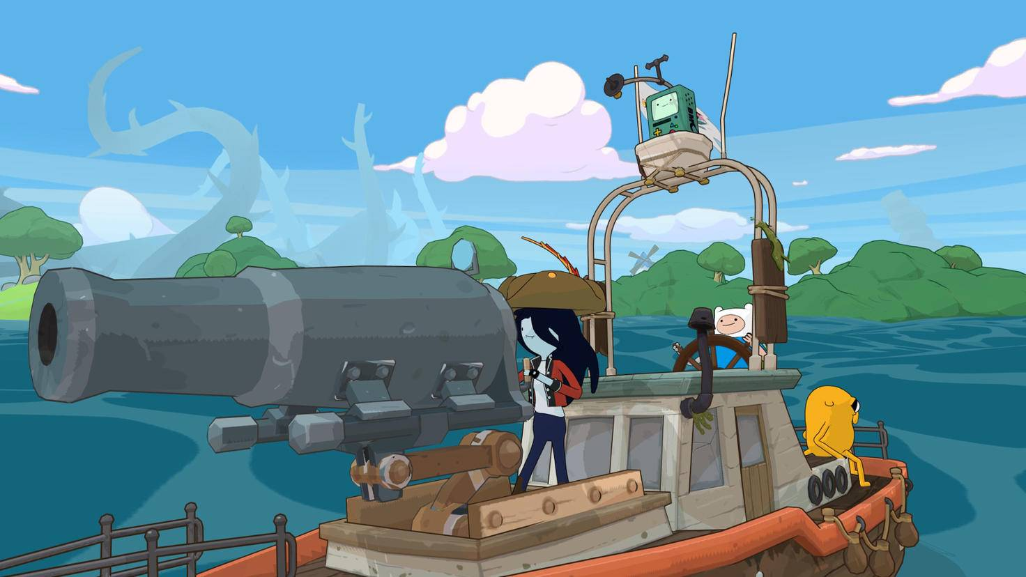 """Adventure Time: Pirates of the Enchiridion""-Screenshot"