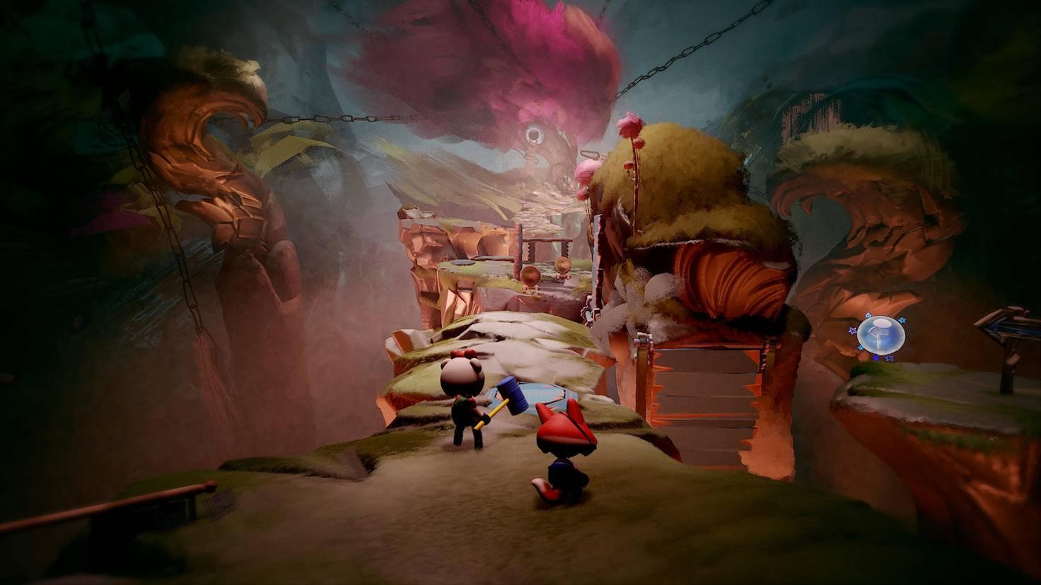 """In """"Dreams"""" können die Spieler alles selber bauen. Von der Landschaft, ..."""