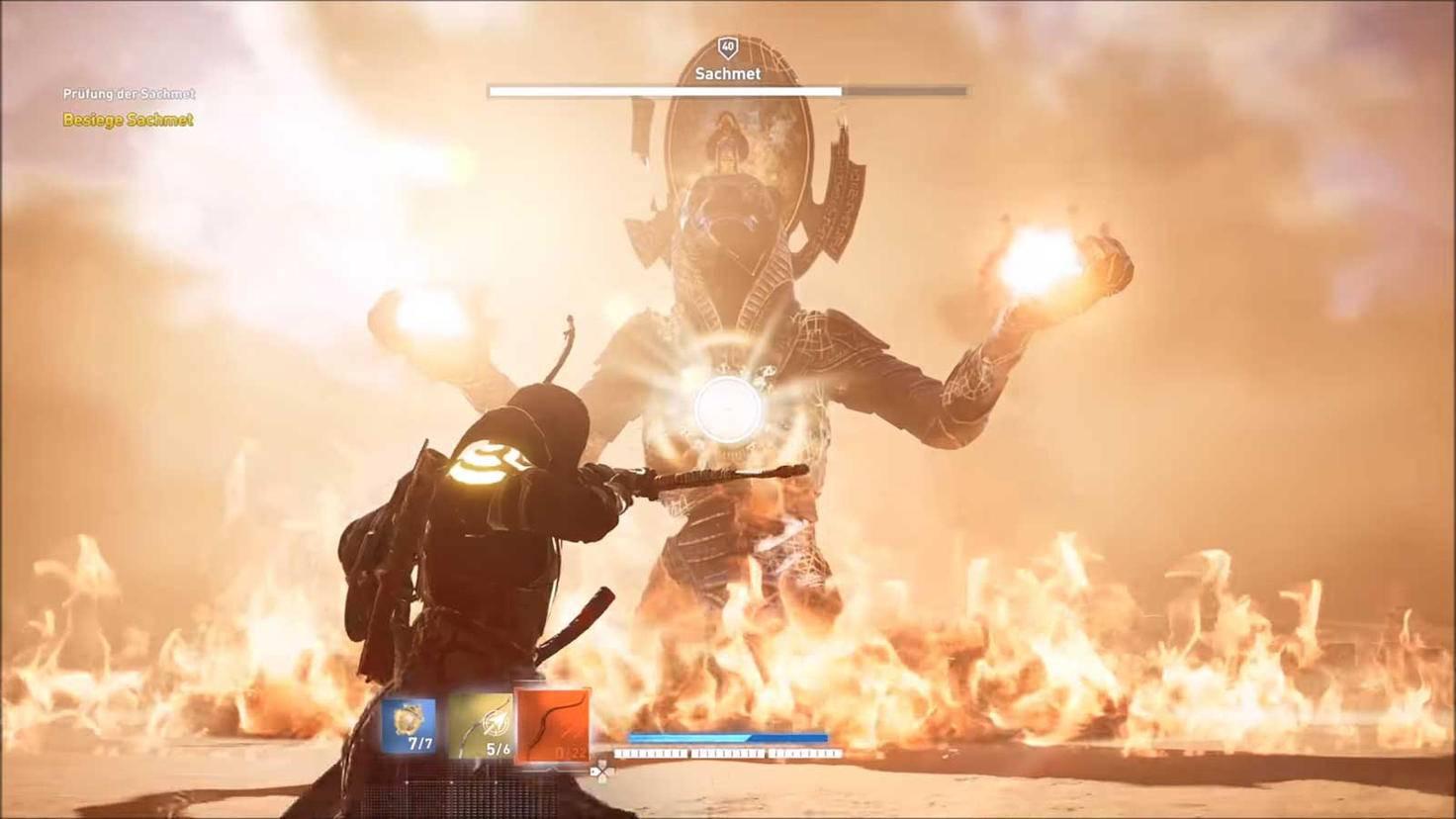 """""""Assassin's Creed: Origins"""" – Sachmet"""