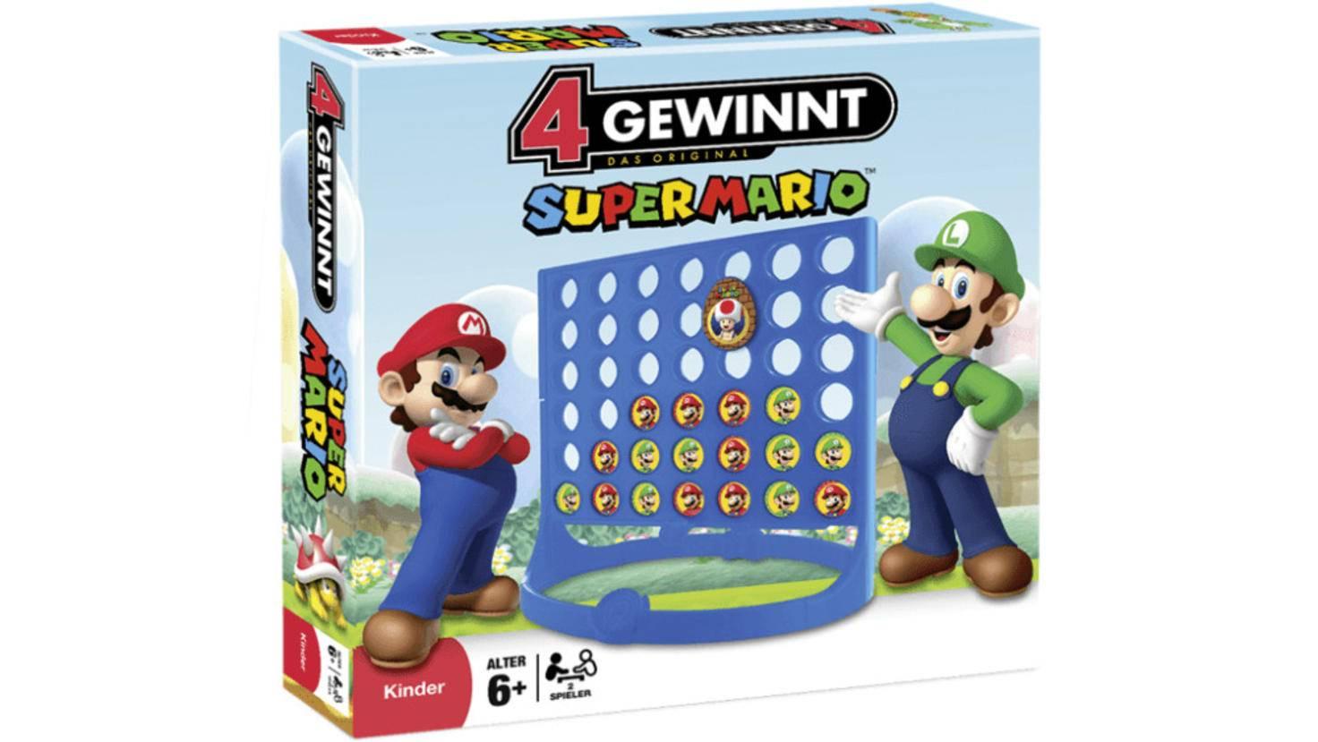 """Simple Idee, schick umgesetzt: """"4 Gewinnt"""" im """"Super Mario""""-Look"""