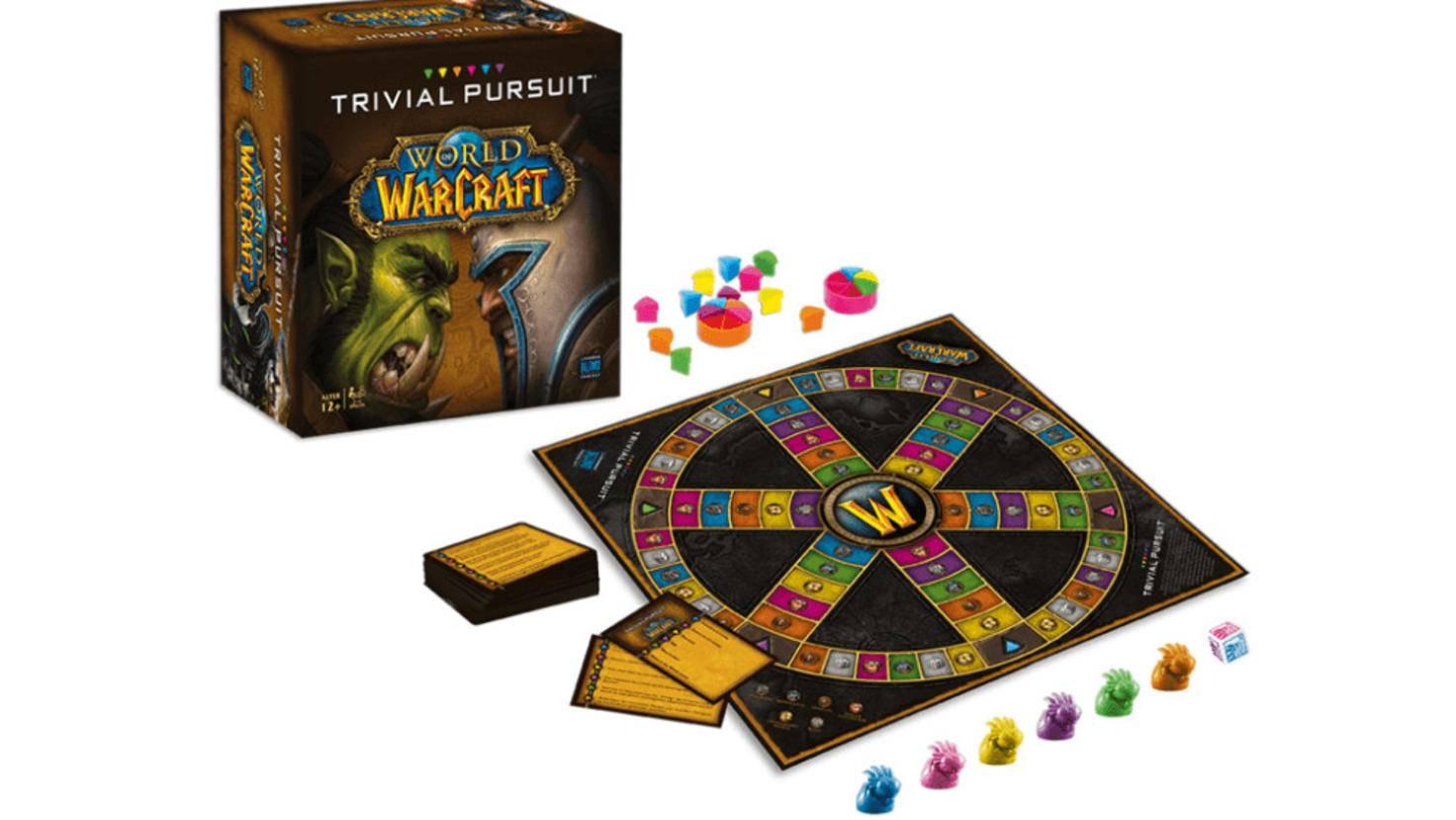 """Wer Azeroth wie seine Westentasche kennt, wird mit """"Trivial Pursuit – World of Warcraft"""" viel Spaß haben."""