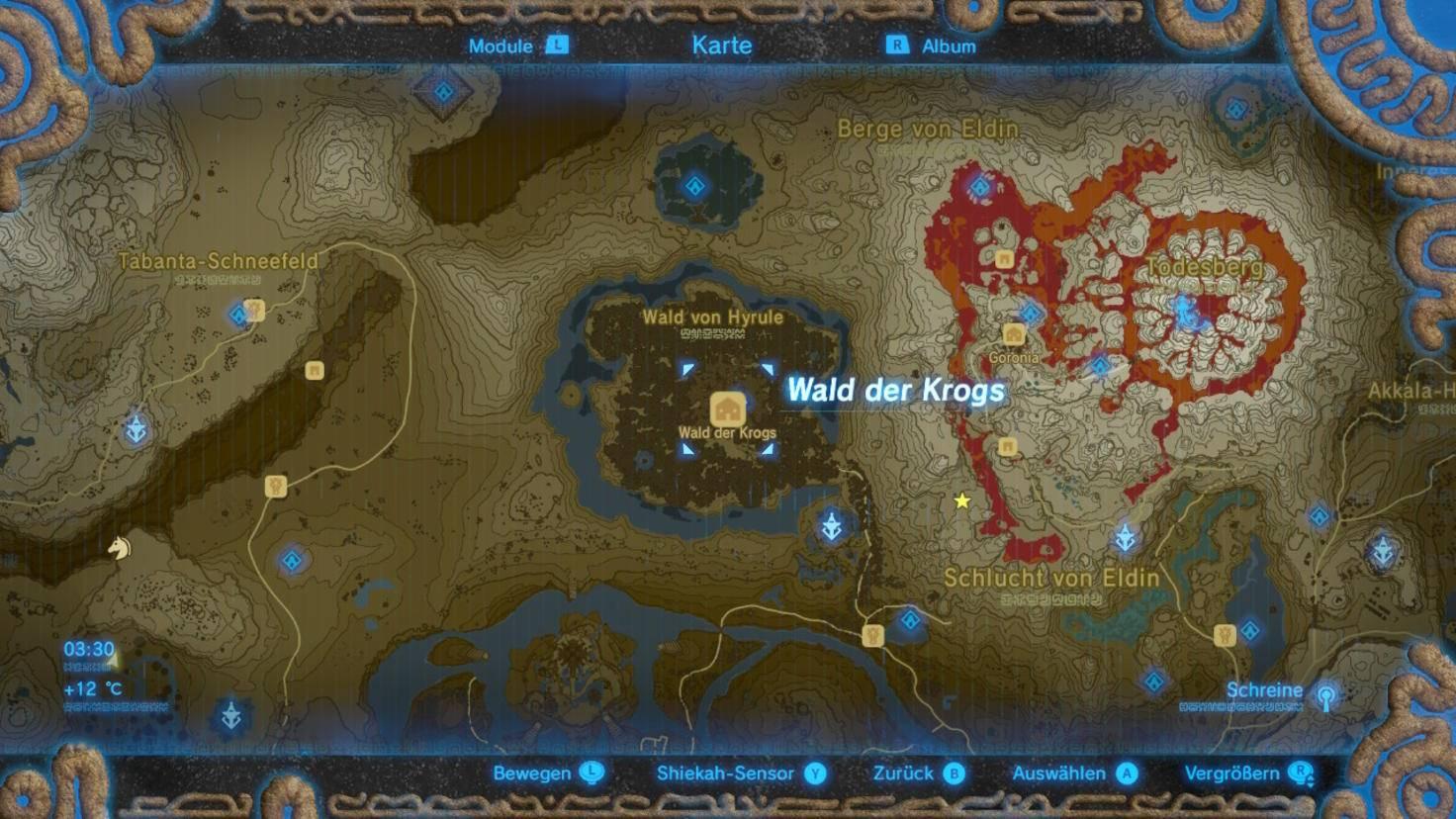 Zelda Krog Karte.Zelda Breath Of The Wild So Bekommst Du Das Master Schwert