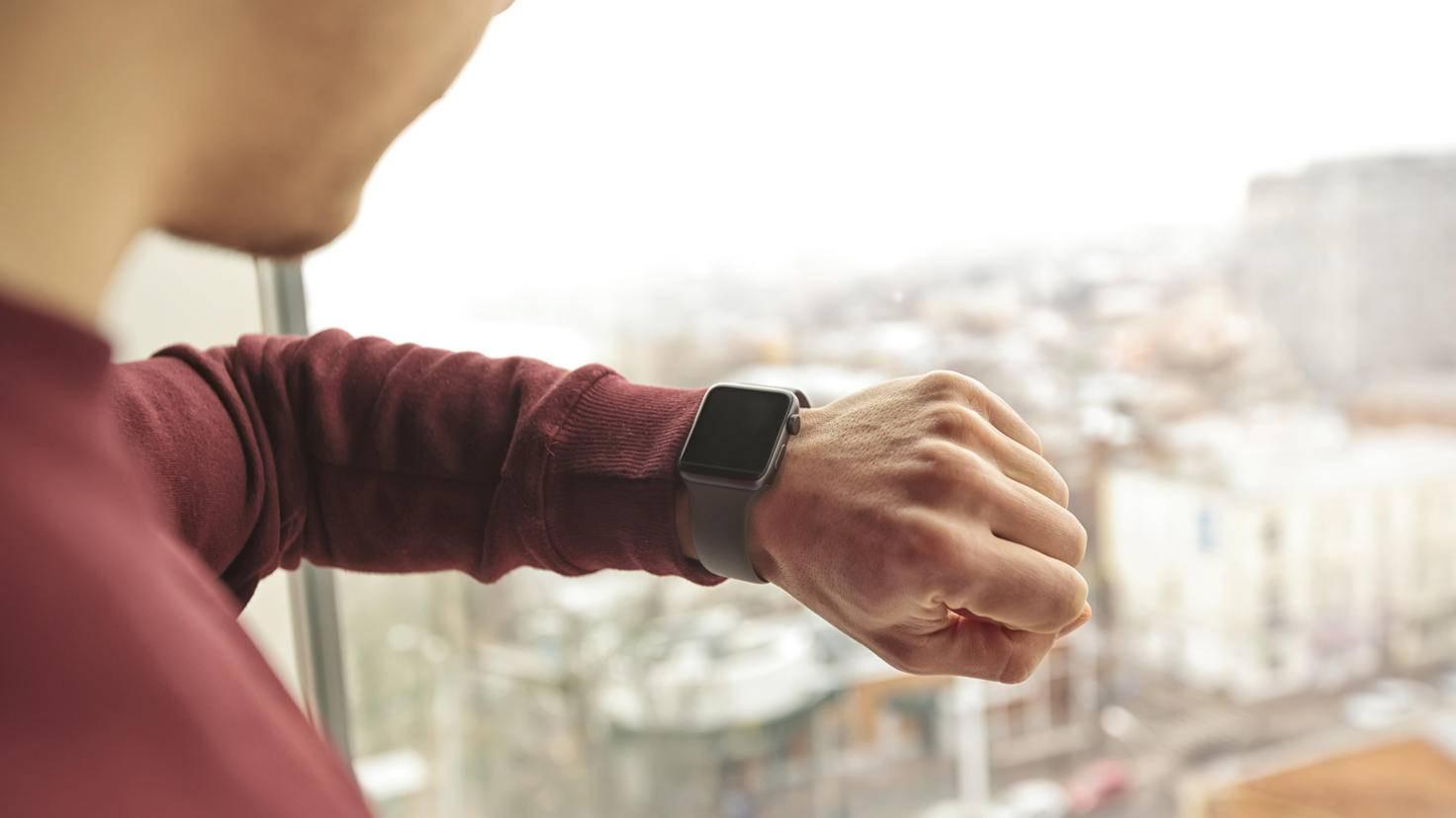 Wohin soll es gehen? Die Apple Watch zeigt Dir den Weg.