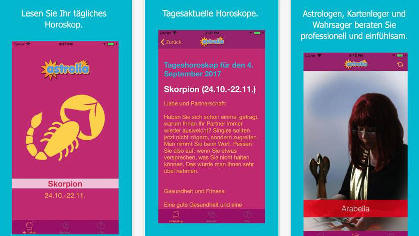Astrolia-iTunes-woopla GmbH