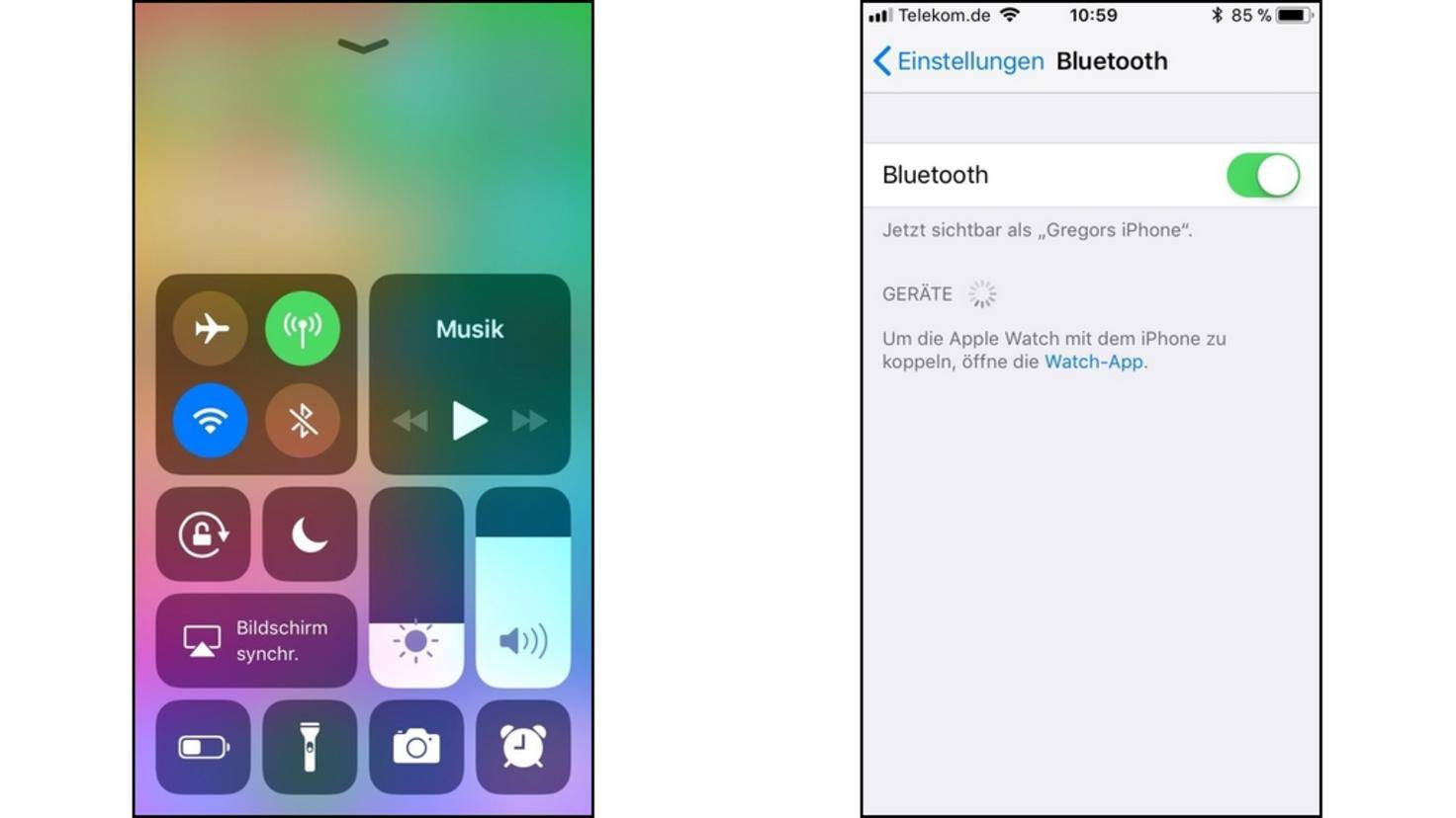 Bluetooth-iPhone