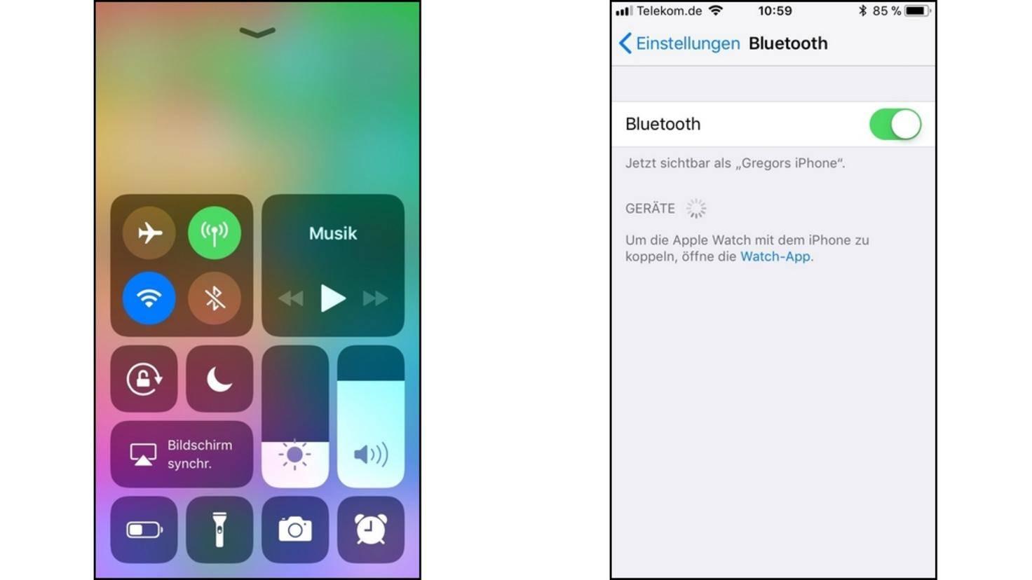 Bluetooth-iPhone