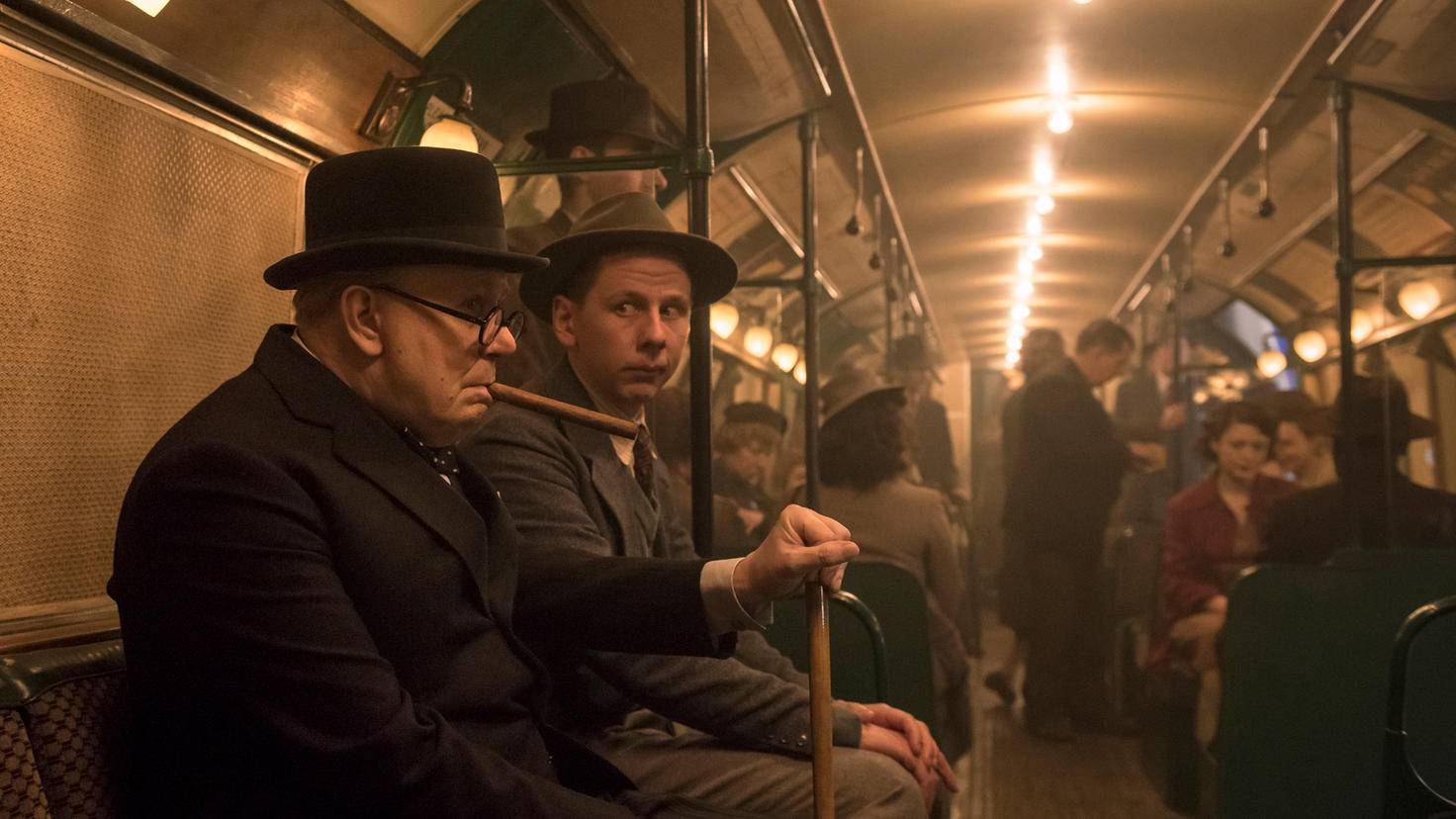 Bei einem Besuch in der Londoner U-Bahn ...