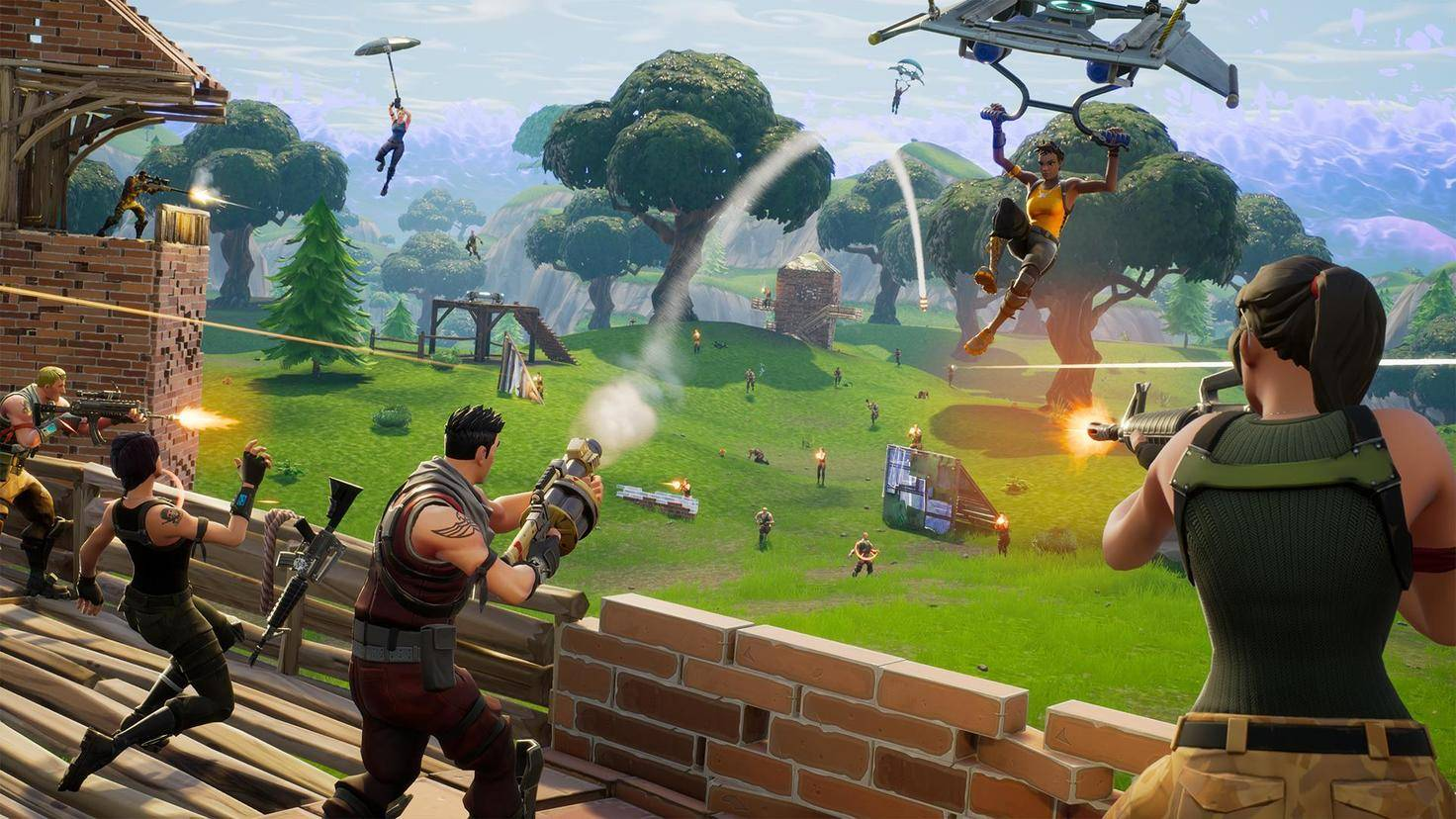 """Der kleine große Bruder: """"Fortnite: Battle Royale"""" wurde erst einige Monate nach dem Release des Spiels veröffentlicht, ist heute aber viel bekannter."""