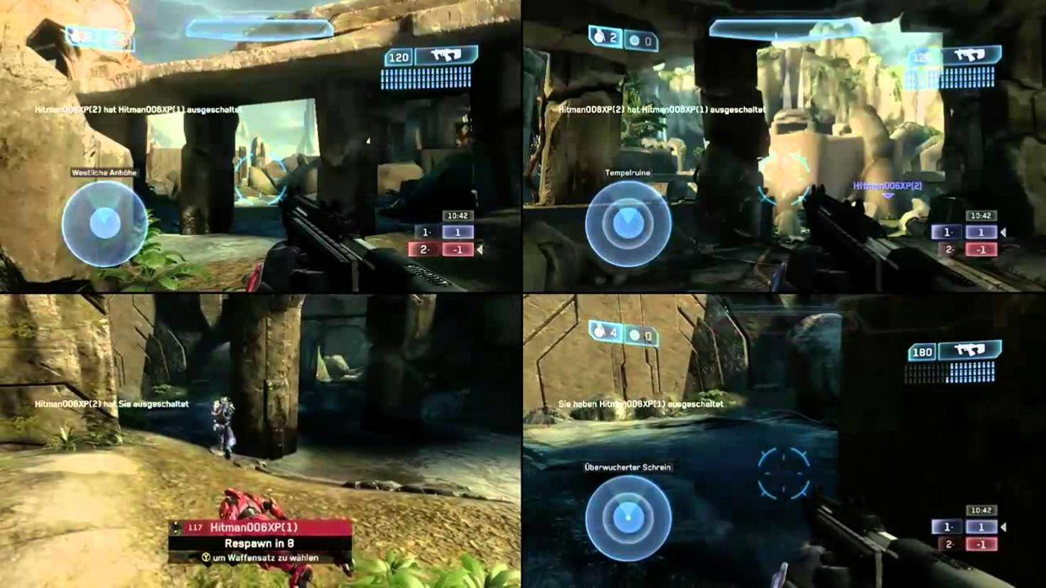 Halo-Master-Chief-Four-Splitscreen