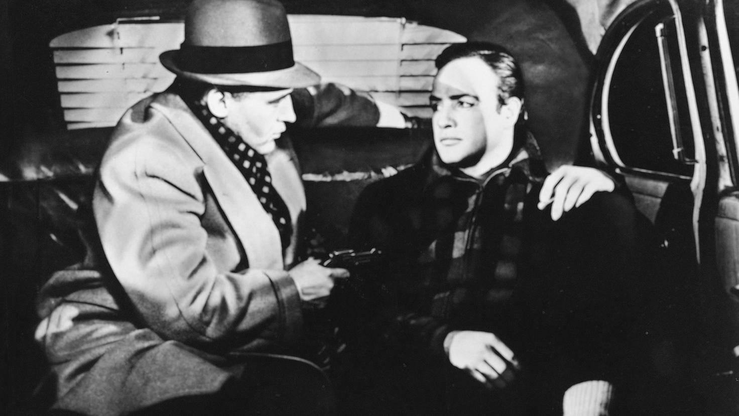 """Marlon Brando in """"Die Faust im Nacken"""""""