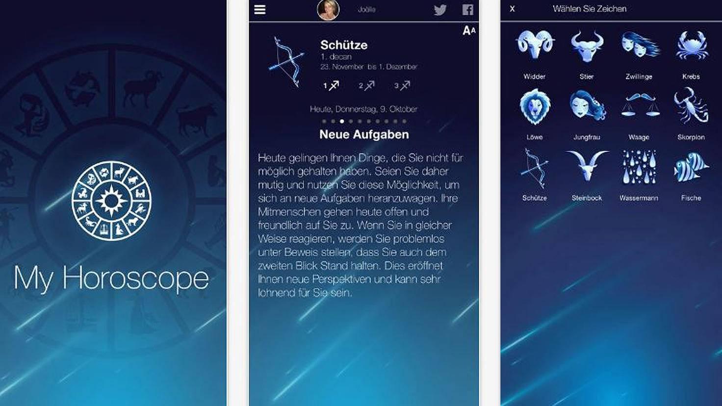Mein Horoskop-iTunes-ID Mobile SA