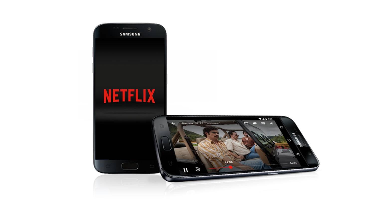 Viele Zahlungsarten führen zum Netflix-Konto.