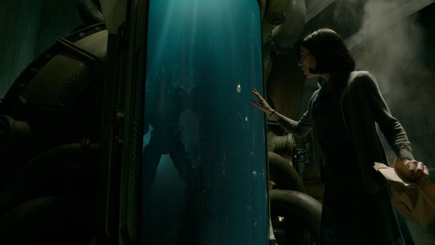 Dort trifft Elisa eines Tages auf ein geheimnisvolles Wassergeschöpf.