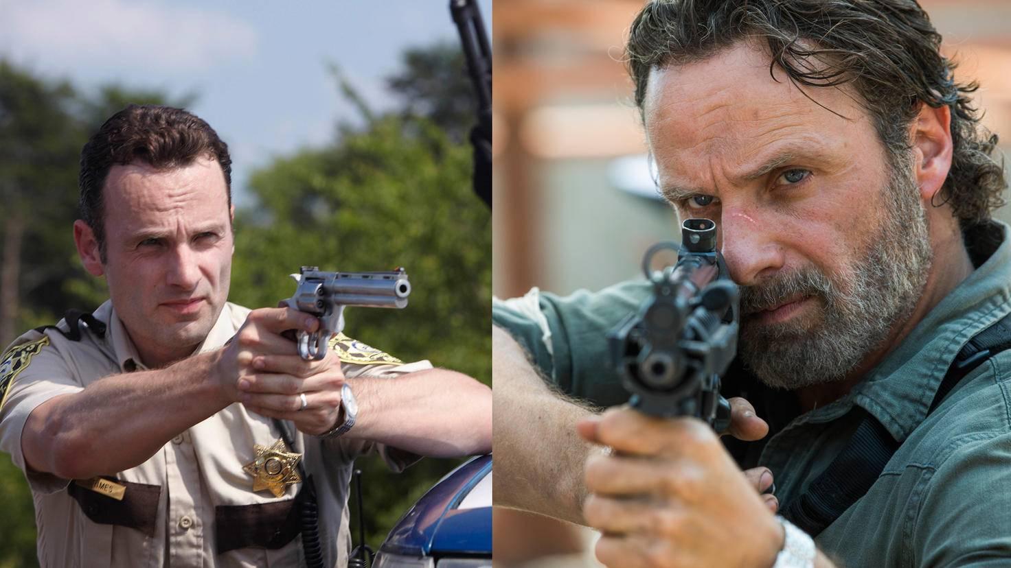 The Walking Dead-Rick Grimes-AMC-The Walking Dead-Staffel 8-Rick Grimes-Jackson Lee Davis-AMC