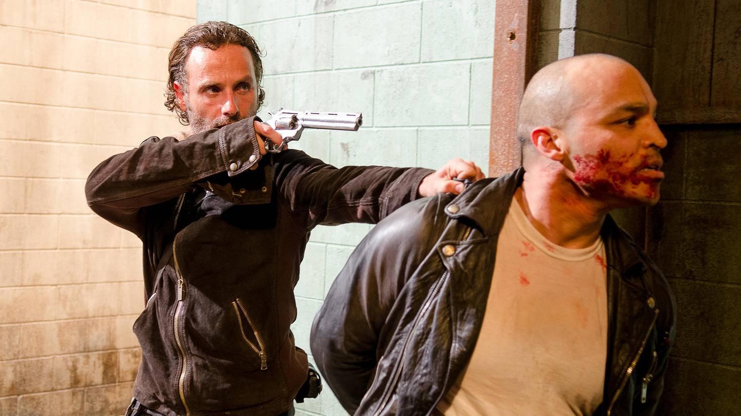 The Walking Dead-Staffel 6-Rick Grimes-Gene Page-AMC