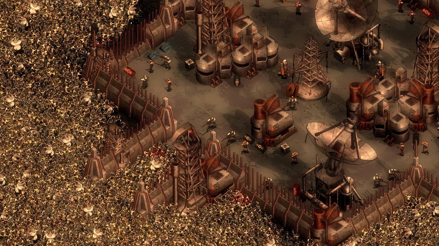 """Von allen Seiten eingekreist – willkommen zur letzten Zombiewelle in """"They Are Billions""""!"""