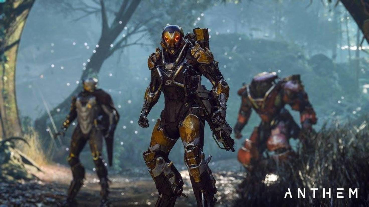 Von links nach rechts: ein Storm, ein Ranger und ein Colossus.