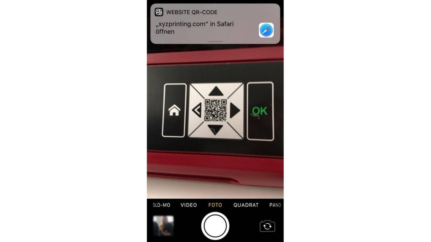 iPhone-QR-Code