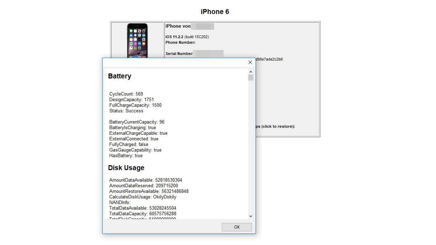 iPhone Ladezyklen