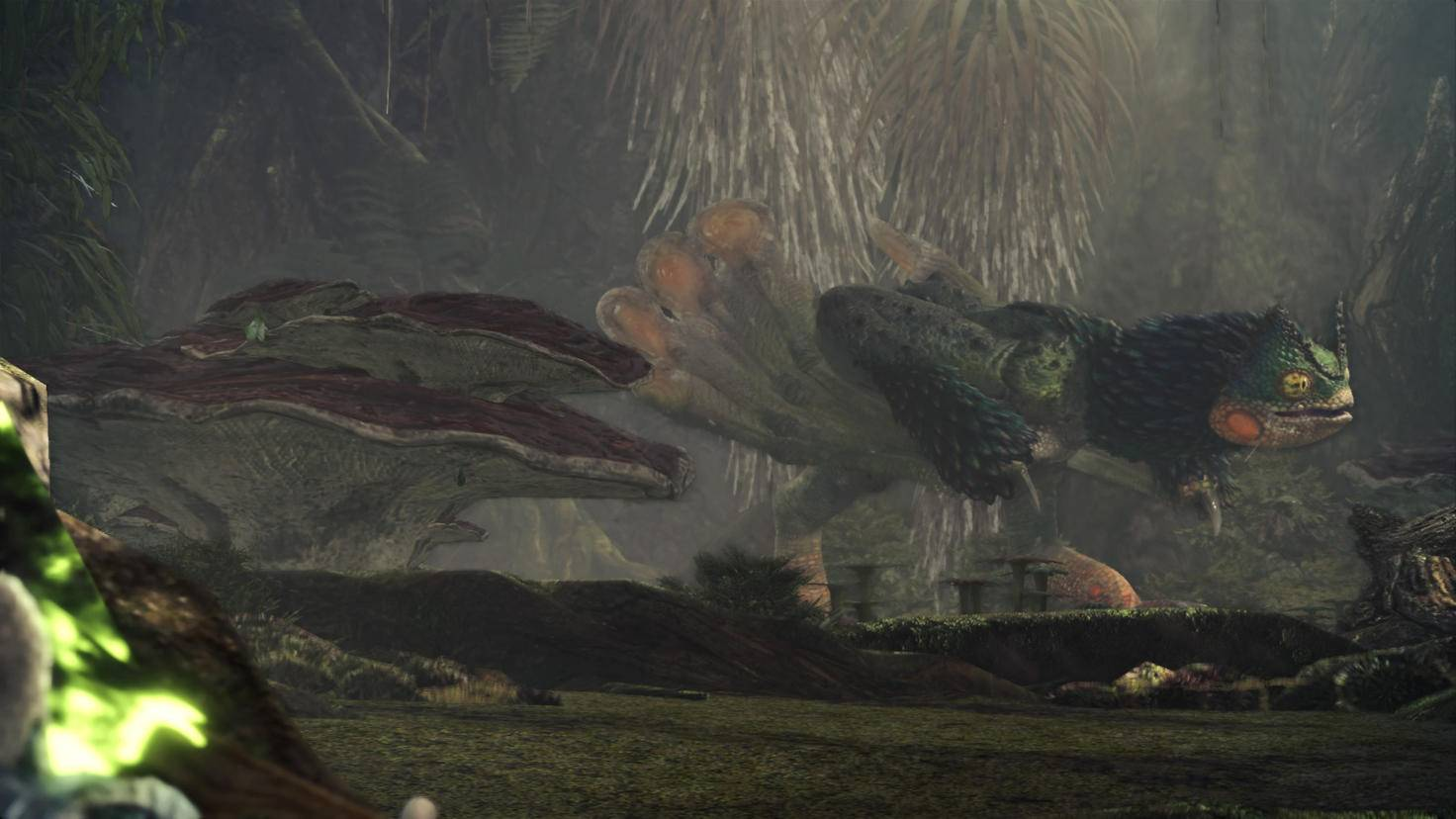 Majestätische Monster durchstreifen die Welt.