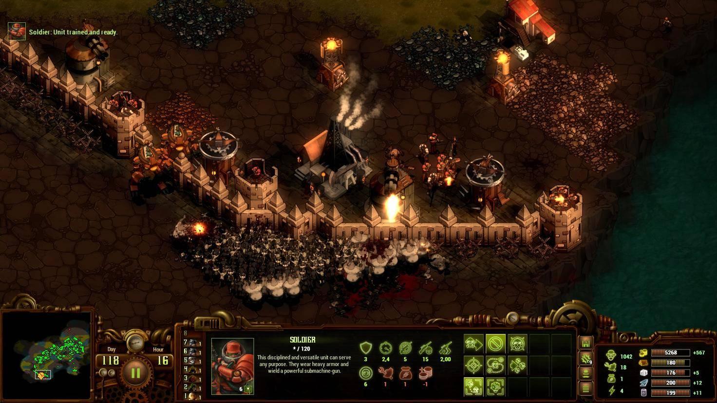 Zombies stürmen die Mauern.