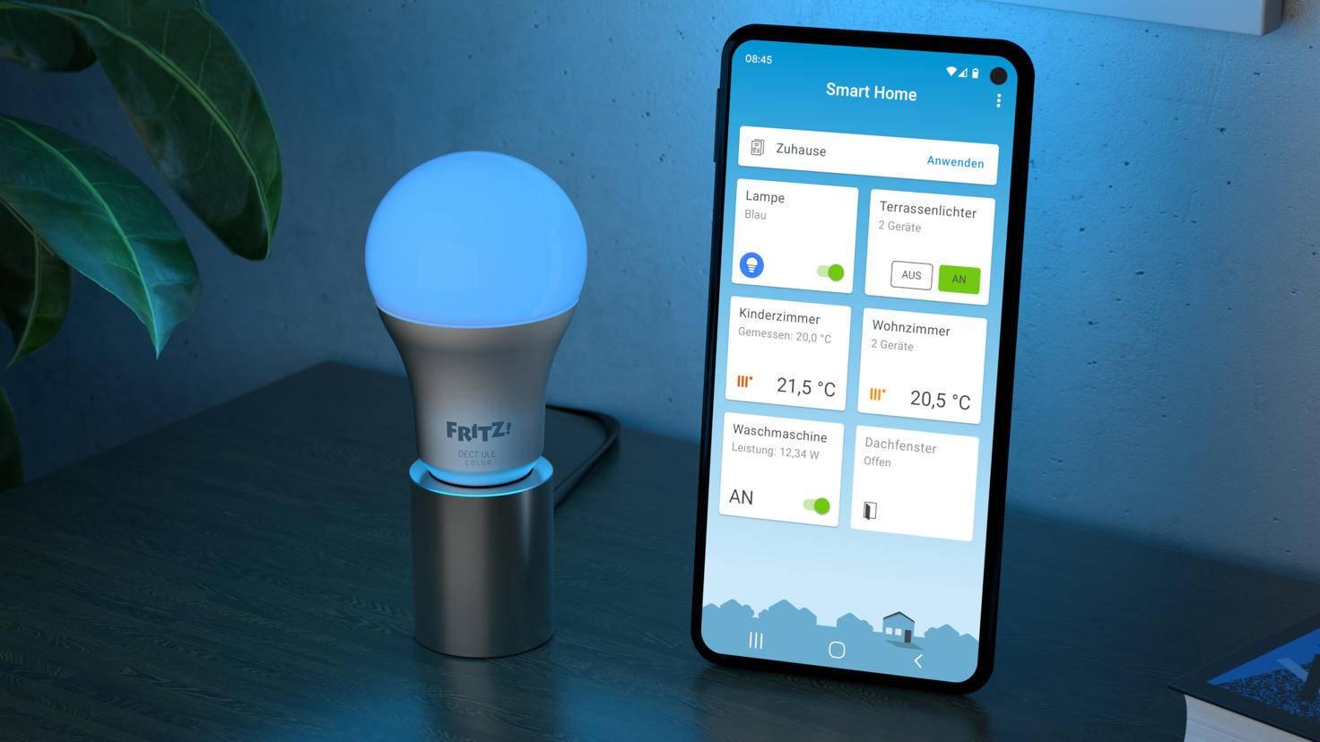 FRITZ!DECT 500 und FRITZ!App Smart Home