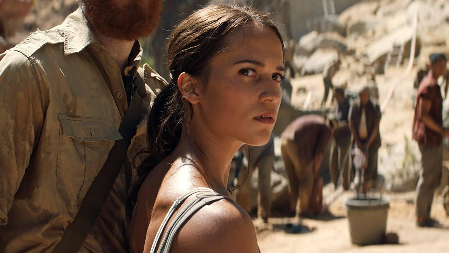 Alicia Vikander spielt eine wesentlich verletzlichere Lara Croft.