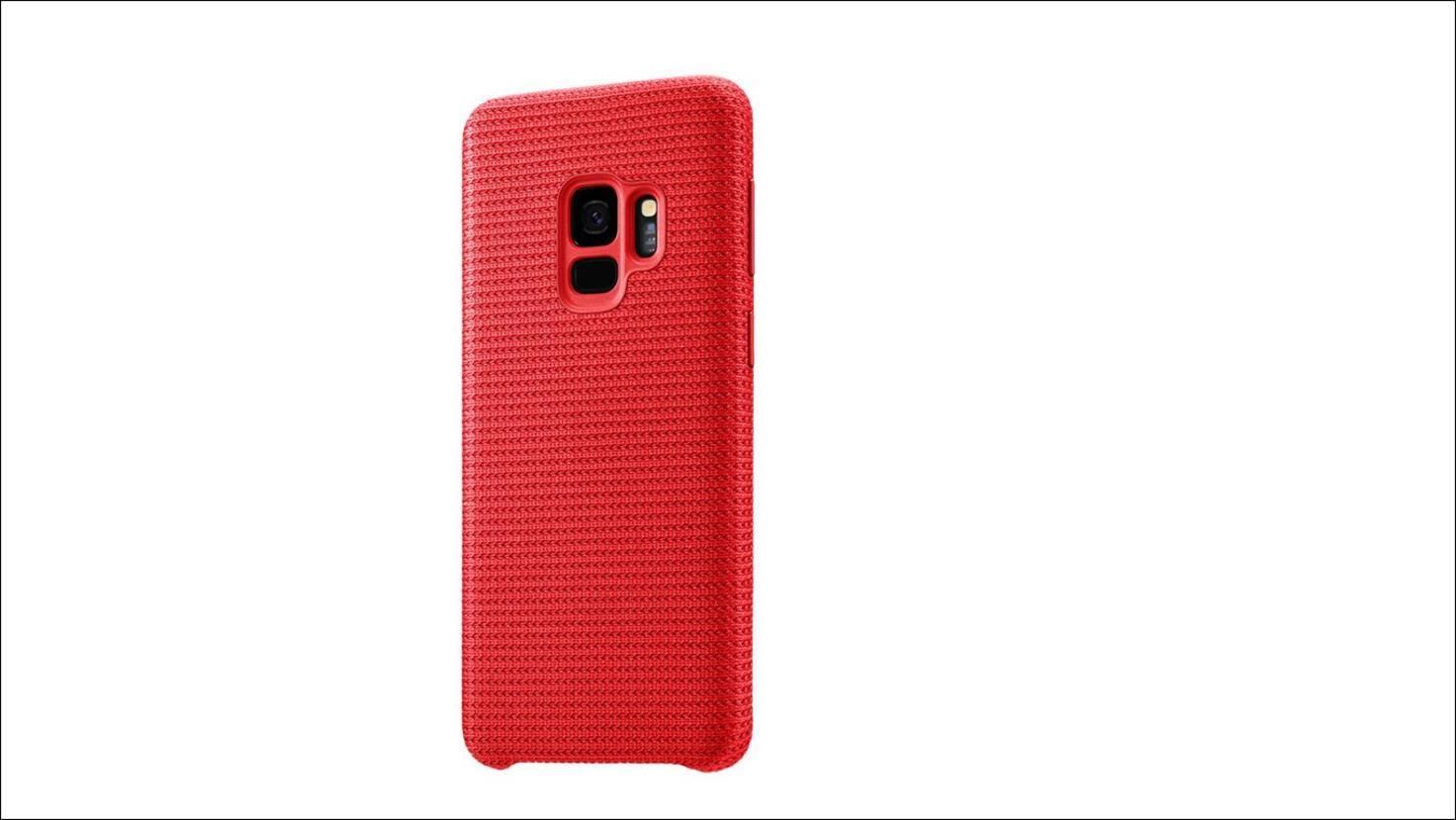 Galaxy-S9-HyperKnit-Cover-Rot