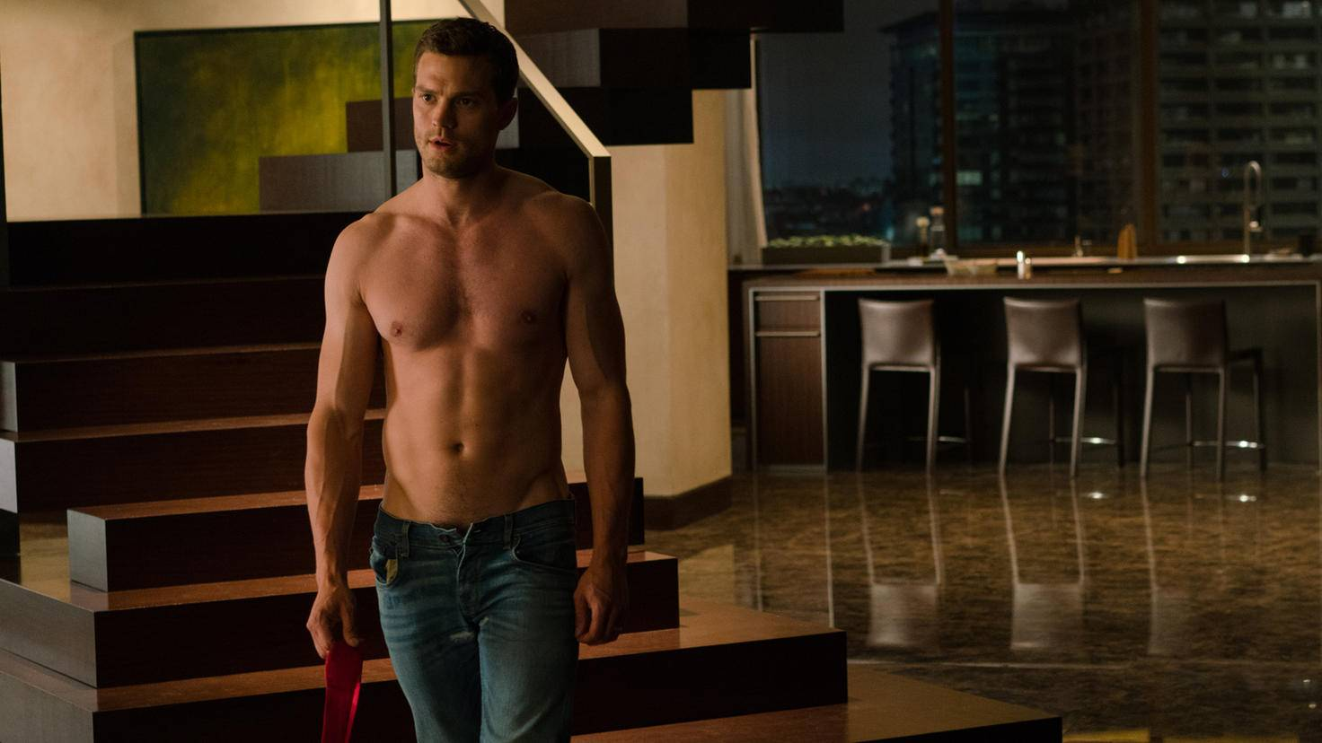 Jamie Dornan als Christian Grey in Fifty Shades of Grey 3 Befreite Lust