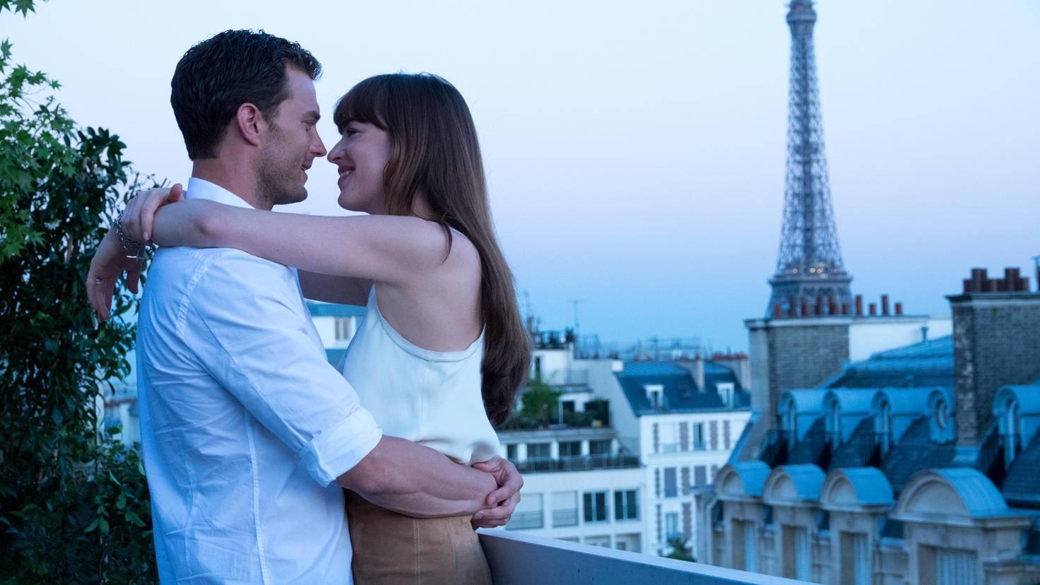 Jamie Dornan und Dakota Johnson als Christian und Ana in Fifty Shades of Grey 3 Befreite Lust