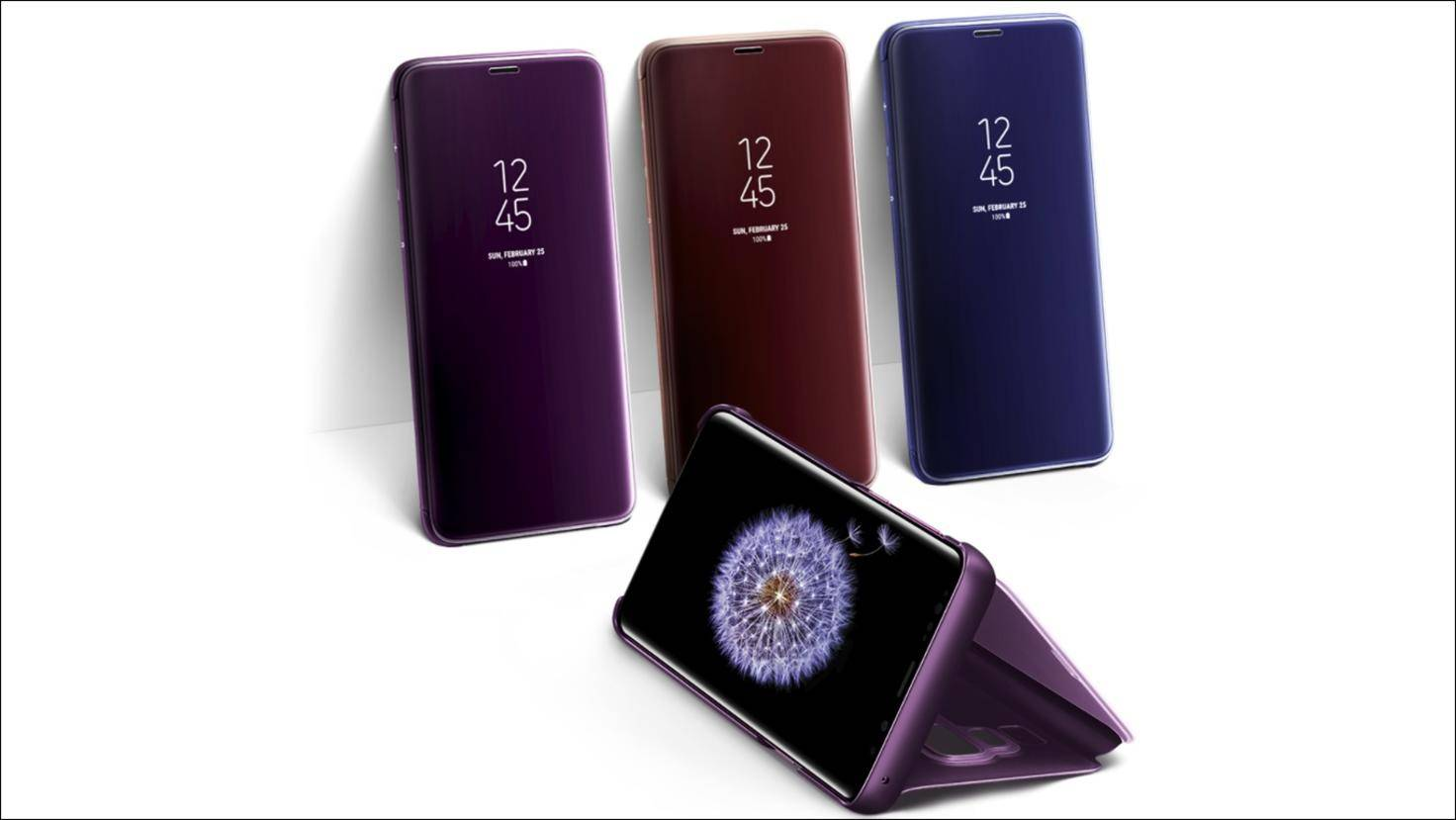 Samsung-Clear-View-Standing-Cover-Galaxy-S9