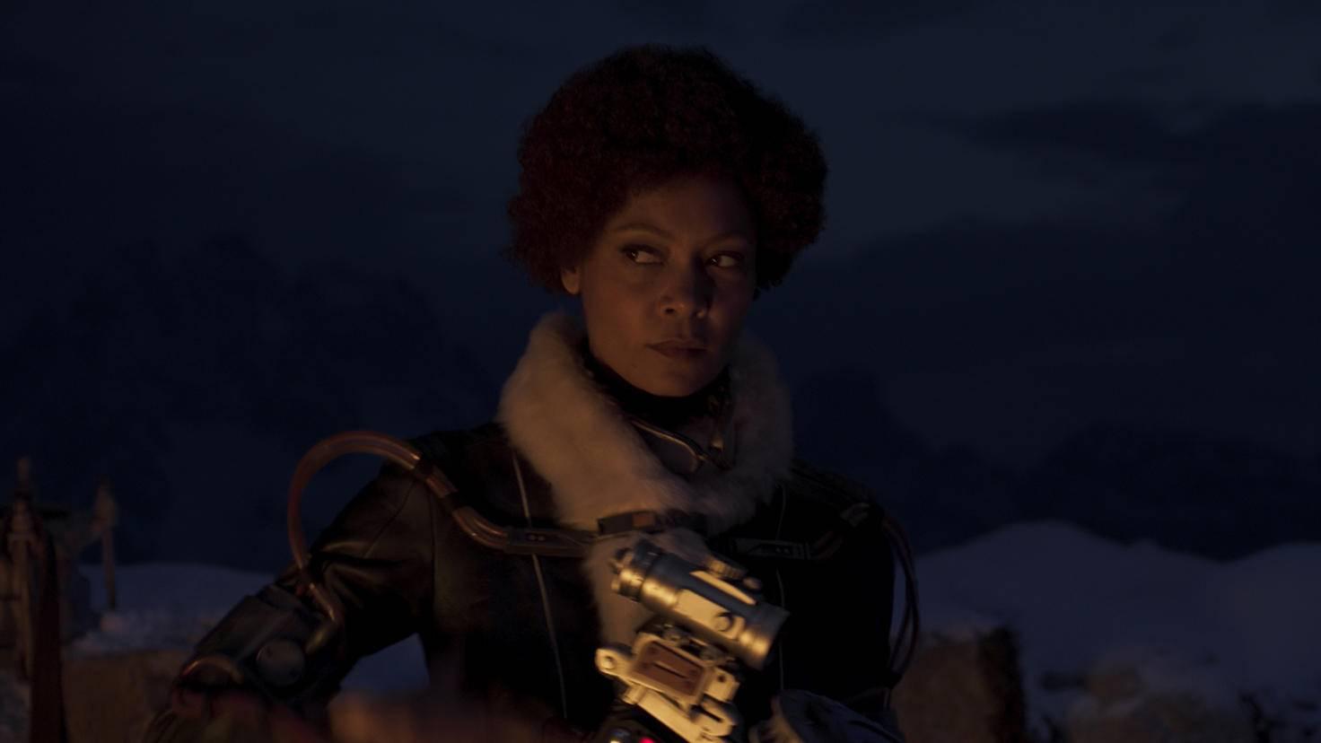 Thandie Newton ist Val.