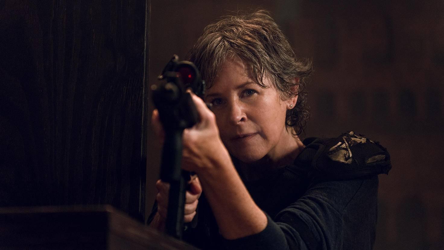 Carol rettet mal wieder den Tag.
