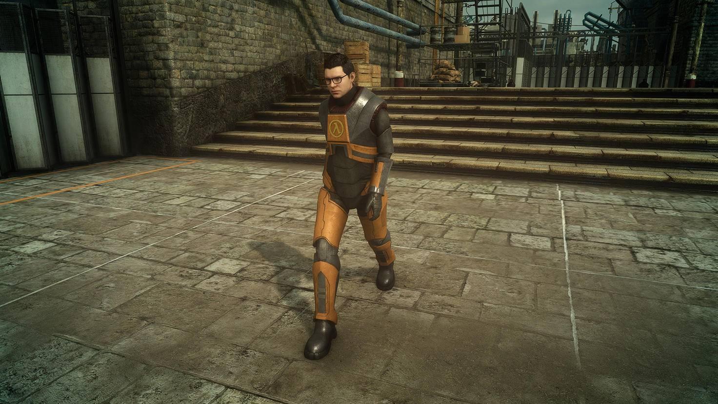 """Wer das Spiel bei Steam kauft, darf als Gordon Freeman durch """"Final Fantasy 15"""" laufen."""