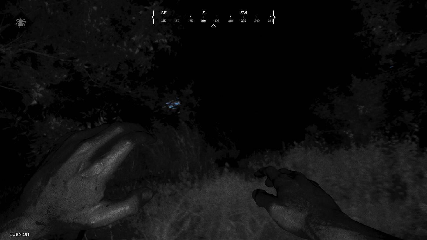 """Mithilfe der magischen """"Dark Sight""""-Fähigkeit zeigen Leuchtpunkte an, ..."""