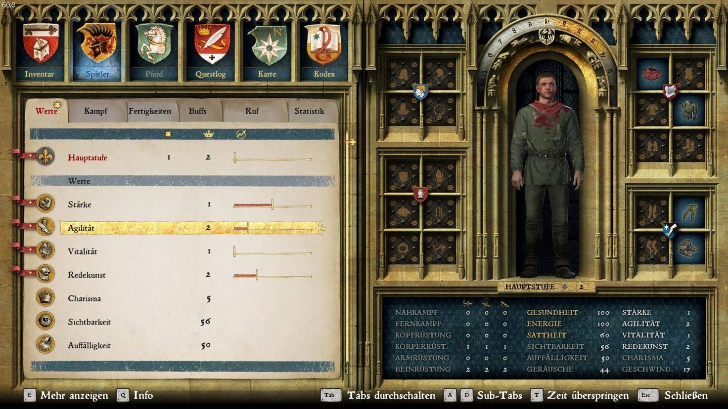 """""""Kingdom Come: Deliverance"""" hat auch klassische Rollenspiel-Werte, ergänzt sie aber mit Gameplay, das Fingerspitzengefühl vom Spieler fordert."""