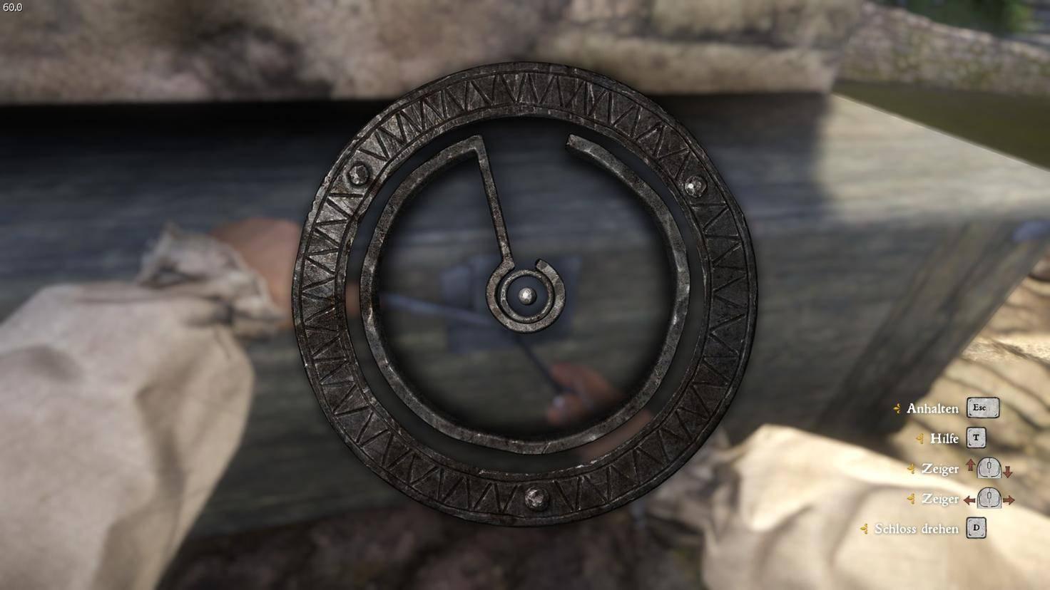 """Das Knacken von Schlössern und Türen ist in """"Kingdom Come: Deliverance"""" ein riskanter, aber einträglicher Weg zum schnellen Reichtum."""