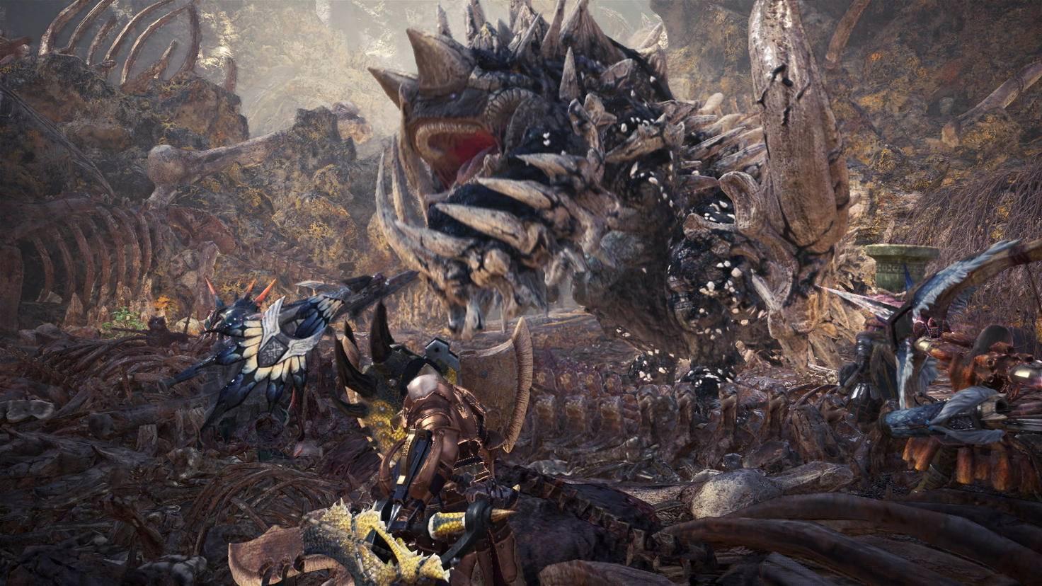 Das gewaltige Monster Radobaan ist neben den Knochenhaufen eine weitere Quelle für Krumme Knochen im Tal der Verwesung.